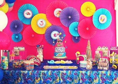 Una fiesta con ambientación de Soy Luna