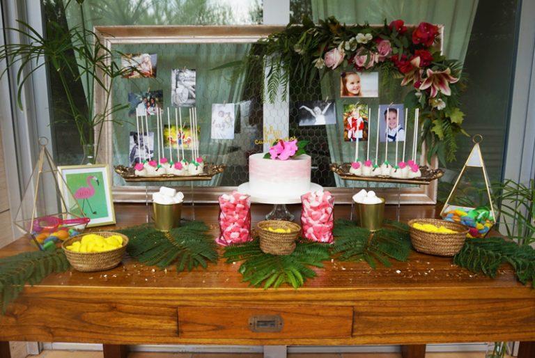 Una fiesta hawaiana