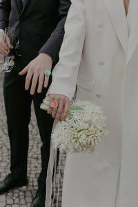 La boda civil, urbana y con pandemia de Maria y Nico